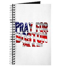 Pray For Boston Flag Journal