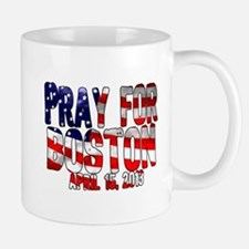 Pray For Boston Flag Mug