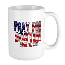 Pray For Boston Flag Mug
