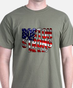 Boston Strong Flag T-Shirt