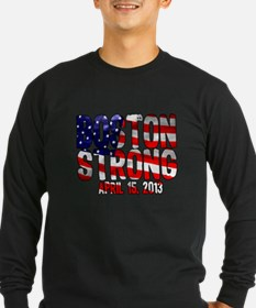 Boston Strong Flag T