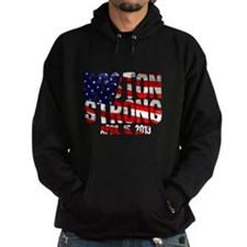 Boston Strong Flag Hoodie