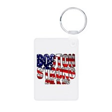 Boston Strong Flag Keychains