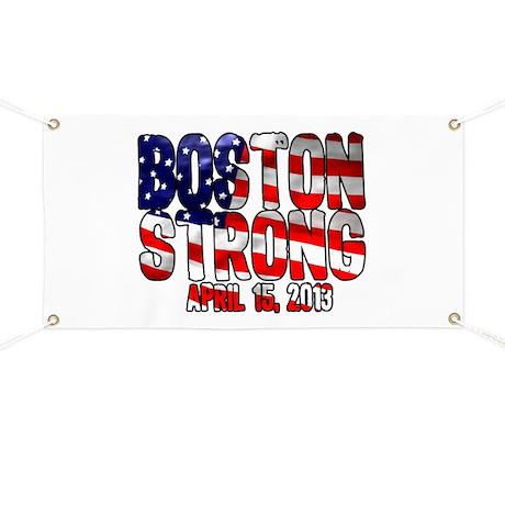 Boston Strong Flag Banner