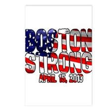 Boston Strong Flag Postcards (Package of 8)
