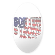 Boston Strong Flag Decal