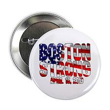"""Boston Strong Flag 2.25"""" Button"""