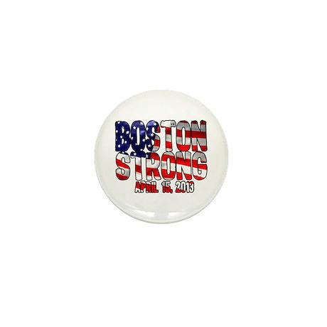 Boston Strong Flag Mini Button (10 pack)