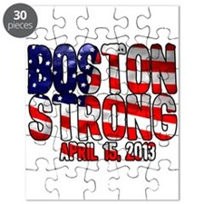 Boston Strong Flag Puzzle