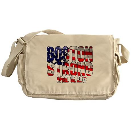 Boston Strong Flag Messenger Bag