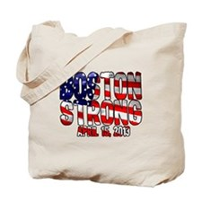 Boston Strong Flag Tote Bag