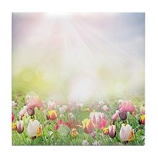 Spring Meadow Tile Coaster