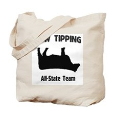 Cow Tipping! Tote Bag
