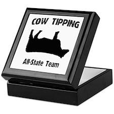 Cow Tipping! Keepsake Box