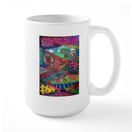 Segments of the Imagination Large Mug