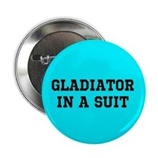 Gladiator in a Suit Button