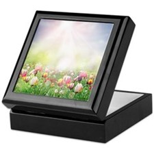 Spring Meadow Keepsake Box