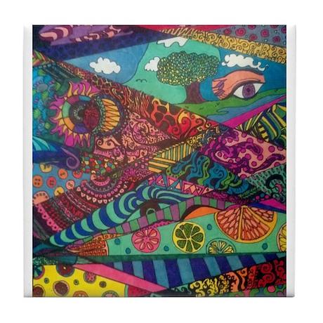 Segments of the Imagination Tile Coaster