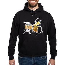 Cool Drum Set (gold version) Hoodie