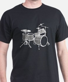 Cool Drum Set (silver version) T-Shirt