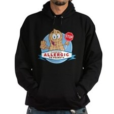 Allergic to Peanuts Hoodie