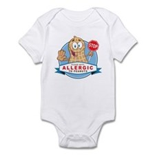 Allergic to Peanuts Infant Bodysuit