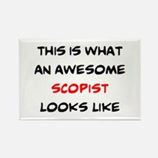 awesome scopist Rectangle Magnet