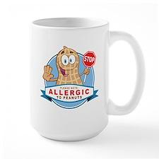 Allergic to Peanuts Mug