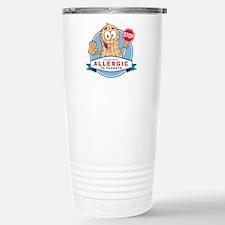 Allergic to Peanuts Travel Mug