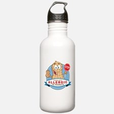 Allergic to Peanuts Sports Water Bottle