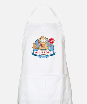 Allergic to Peanuts Apron