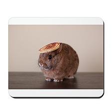 pancake bunny Mousepad