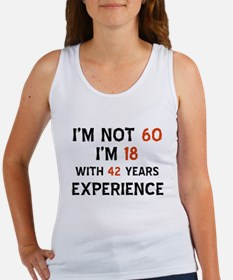 60 year old designs Women's Tank Top
