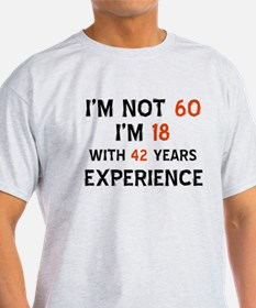 60 year old designs T-Shirt