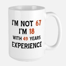 67 year old designs Coffee Mug