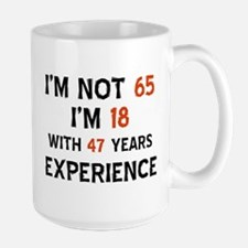 65 year old designs Large Mug
