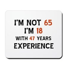 65 year old designs Mousepad