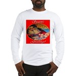 Season's Greetings Santa Long Sleeve T-Shirt