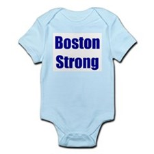 Boston Strong - blue Body Suit