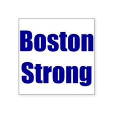 Boston Strong - blue Sticker