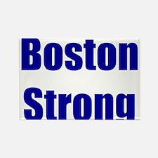 Boston Strong - blue Rectangle Magnet