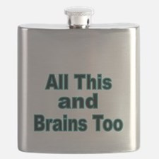 All this and Brains too Flask