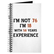 76 year old designs Journal