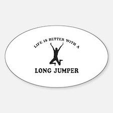 Long Jumper Designs Decal