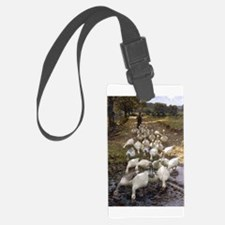 Tending the Geese Luggage Tag