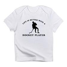 Hockey Player Designs Infant T-Shirt