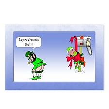 Leprechaun's Rule Postcards (Package of 8)