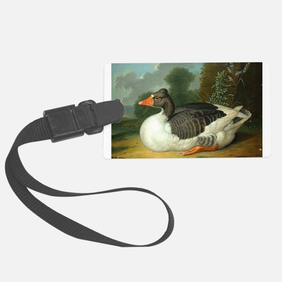 Resting Duck Luggage Tag