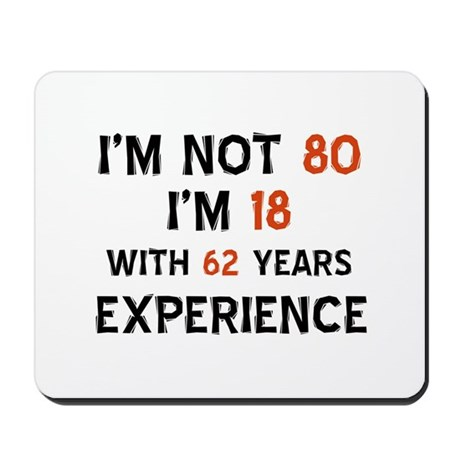 80 year old designs Mousepad