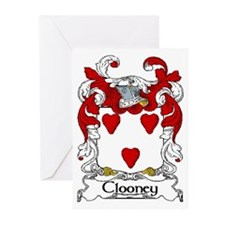Clooney Coat of Arms Greeting Cards (Pk of 10)